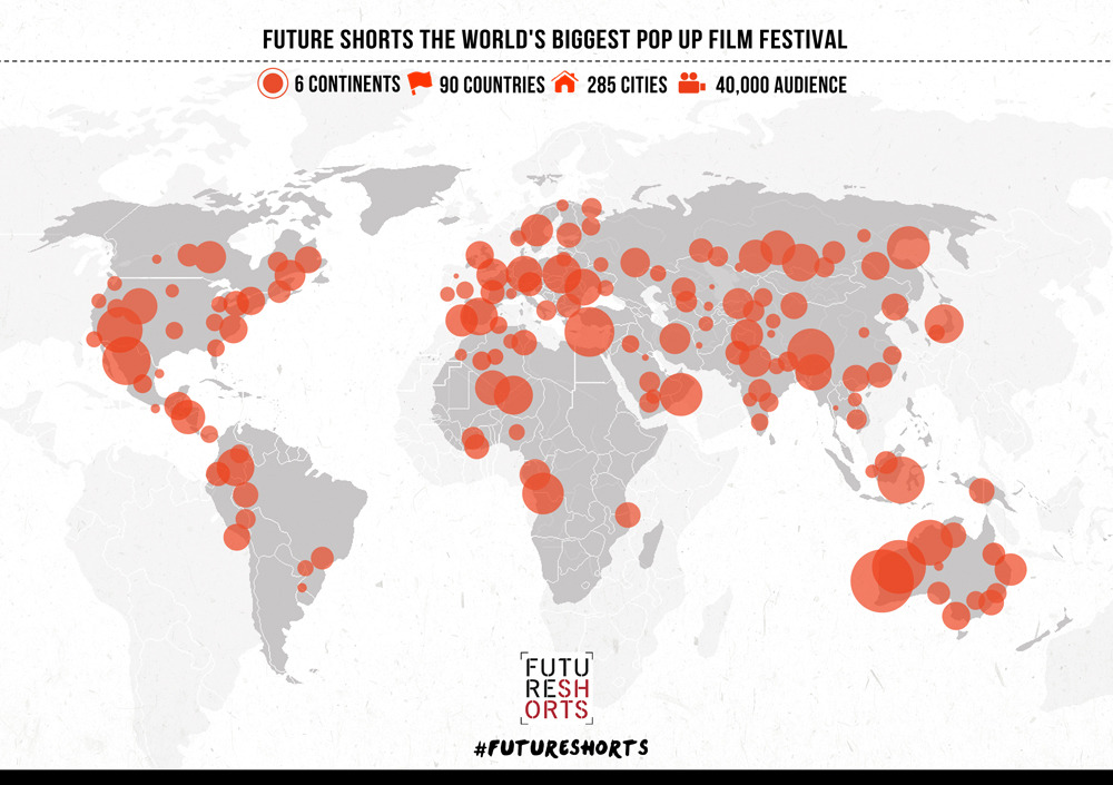 "Future Shorts Festival continues to be the world's largest and boldest pop-up film festival. Anyone anywhere can set up a screening and become part of this global community of film lovers, explorers and adventurers.  This season, a special highlight comes in the form of Sundance Grand Jury Prize winner ""Fishing Without Nets"" (Kenya, 2010), a fascinating story of pirates in Somalia told from the perspective of the Somalis.  Future Shorts further presents the colourful animation ""Marcel, King of Tervuren"" (USA, 2012), alongside with Woodstock Film Festival Jury Prize Winner ""We're Leaving"" (USA, 2011), the documentary – cum- horror film ""The S from Hell"" (USA, 2010), alongside the surreal coming-of-age short ""Candy Girl"" (UK, 2012) and the humorous love story ""Lovebirds"" (Czech Republic, 2010) that reflects similarities between avian and human life, accompanied by ""Seeds of the Fall"" (Sweden, 2009) from oscar nominated director Patrik Eklund.  Future Shorts Festival continues to be the world's largest and boldest pop-up film festival. Anyone anywhere can set up a screening and become part of this global community of film lovers, explorers and adventurers."