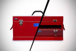 Best Made Front Loading Toolbox  age-old problem solved. 'nuff said.