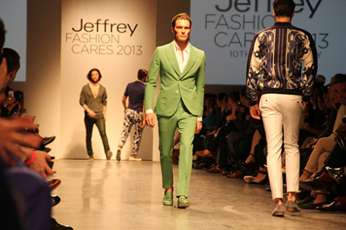Shaun DeWet for Jeffrey Fashion Cares April 2013