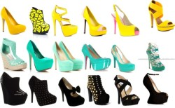 blessie:  shoes…shoes…shoes by blessielovmusic featuring high heel sandalsJimmy Choo platform high heels / Giuseppe Zanotti black wedge heels / Brian Atwood evening shoes / Dolce & Gabbana ankle strap shoes / Neon boots, $270 / Roberto Botella ankle strap shoes / Jeffrey Campbell platform high heels, $260 / Steven by Steve Madden yellow high heels / Betsey Johnson patent leather pumps / GUESS closed toe shoes / Penny Sue yellow high heels / Michael Antonio high heel sandals / Promise Shoes party shoes / Madden Girl mint green shoes, $50 / High heel pumps / Truffle black studded boots, $48 / Truffle studded heels, $34