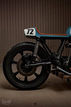theblackworkshop:   Yamaha XS750 by Ugly Motorbikes