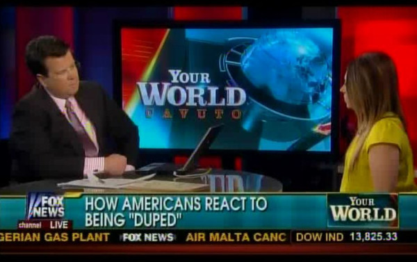 think-progress:  mediamattersforamerica:   Today in Fox News irony   Boom.  The irony of Fox News