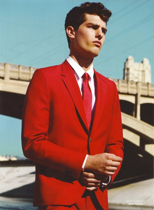 mensfashionworld:  Paolo Anchisi by Yu Tsai for GQ Style Italia