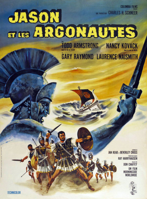 Italian one-sheet for Jason and the Argonauts (1963).