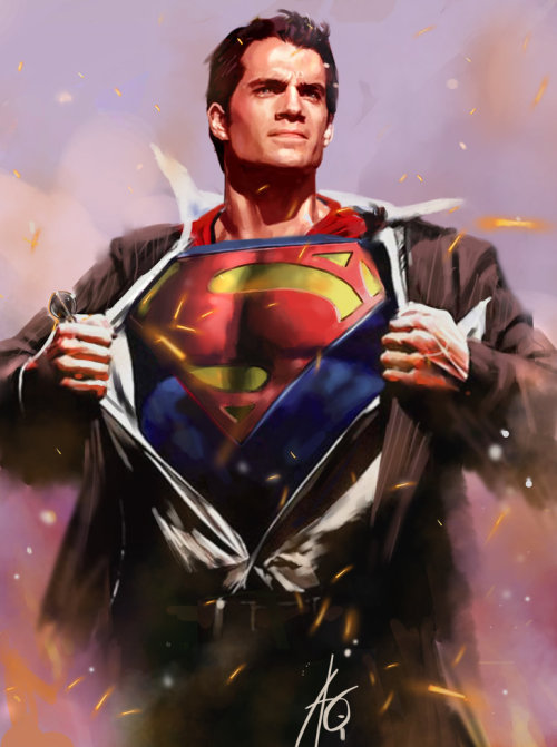 eclectic69:  hey Matt!  xombiedirge:  Man of Steel by Rudy Ao / Website