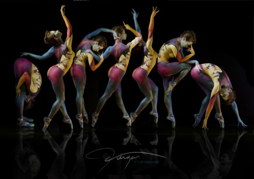 wolfdancer:  Flow  ~  VARGAStheBodypainter  Vargas  Body paint