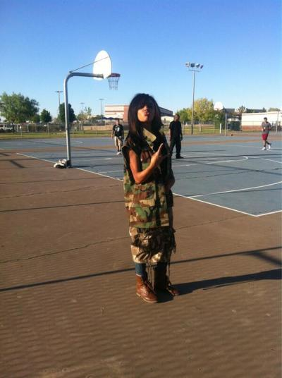 all camo . whaaattt up doe ?