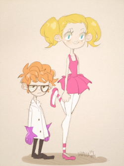 starrypier:  also, deedee and dexter ´w`