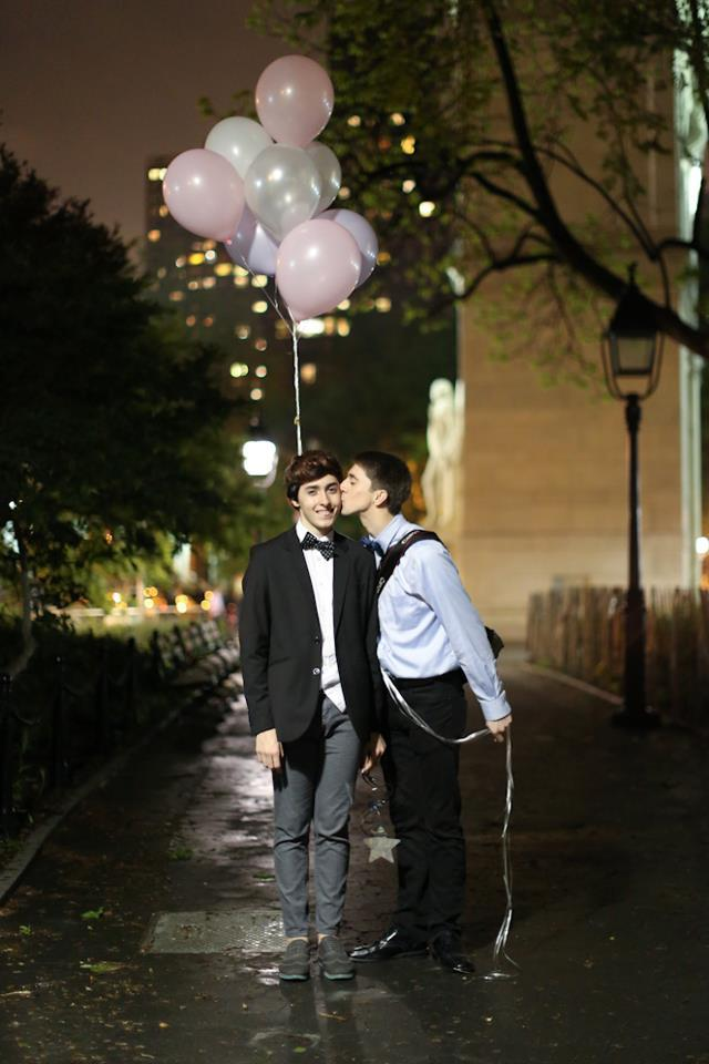 "humansofnewyork:  ""We just got back from the prom."" ""Did you have dates?"" ""Um, yeah."""