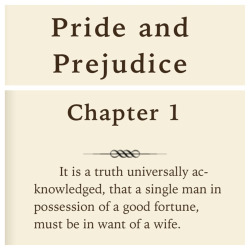 in-the-books:  Pride And Prejudice