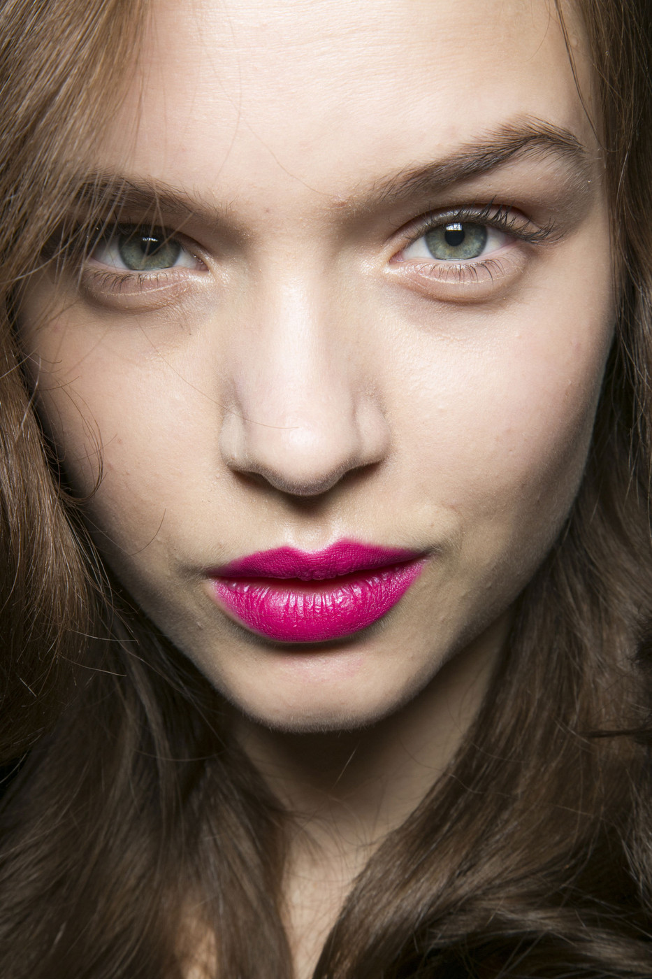 Josephine Skriver backstage at Diane von Furstenberg Fall Winter 2013 | NFYW