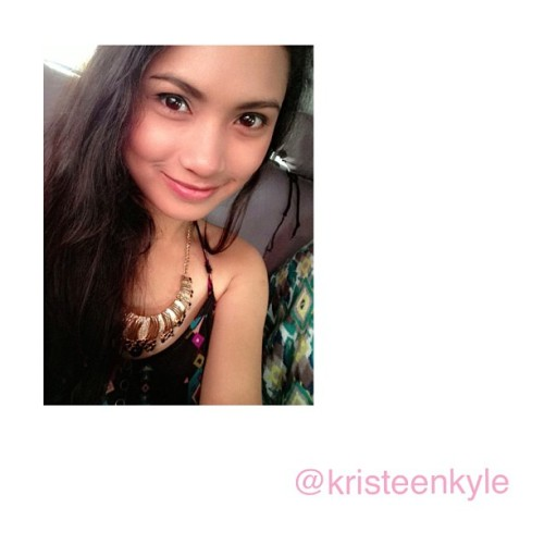 Hit follow ! @kristeenkyle ☺ Instagram and Twitter account teeeheee