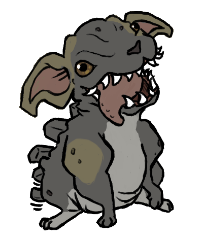 this anime is too depressing. here have a puppy. it's transparent so you can have a happy puppy all over your blog.