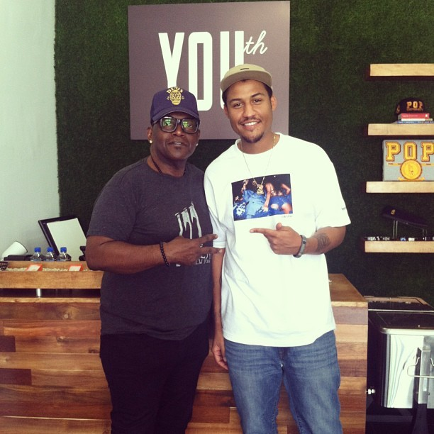 Thanks @RandyJackson for coming through @YOUthFairfax and supporting us! Im glad you like brand! Peace and love to you…And stay COOL! 🙏