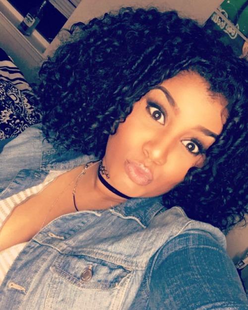 curly hair curly girl curly beauties naturalhair bighair blackwomen blackgirls blackoutday