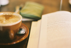 bookspresso:  a little morning reading by flickrjo on Flickr.