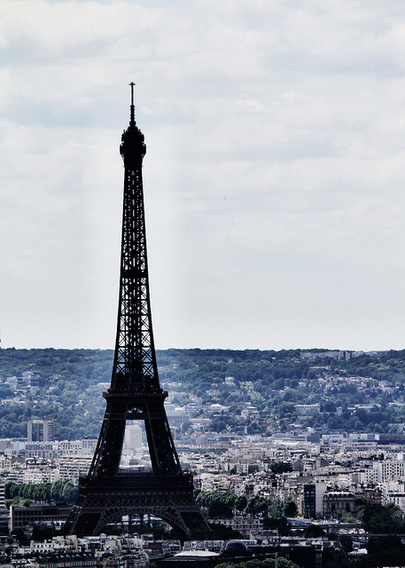 | ♕ |  Eiffel view from Sacre Coeur  | by © Claude Rozier