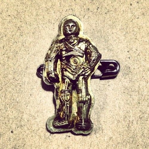 C3-PO (¥20 Capsule Toy Badge) #starwars
