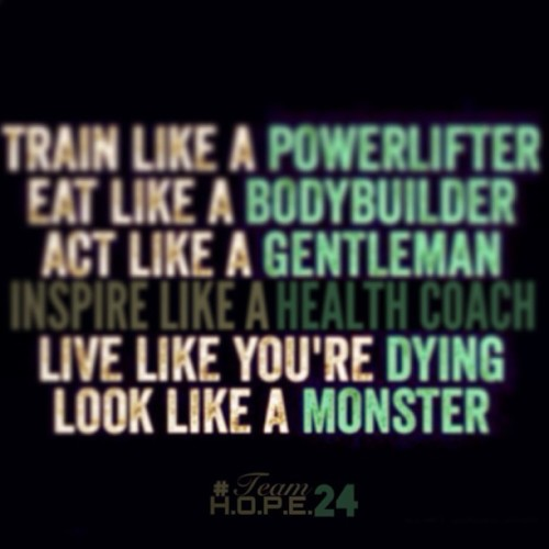 Everyday Reminders.   #teamhope24 #herbalife24 #herbalife #preplikeachef #active #lifestyle #powerlifter #bodybuilder #healthcoach #monster  (at Team H.O.P.E 24)