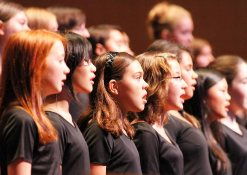 The Madison Youth Choirs are joining Sam Hutchison in the Overture Concert Organ season this year. And their spring concert is at Overture this Sunday