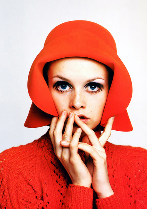 Twiggy photographed by Richard Avedon, 1967
