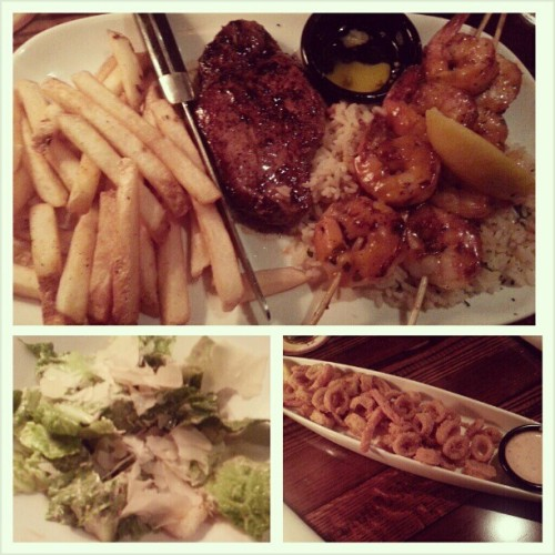 It was a good dinner ^_^ (at LongHorn Steakhouse)