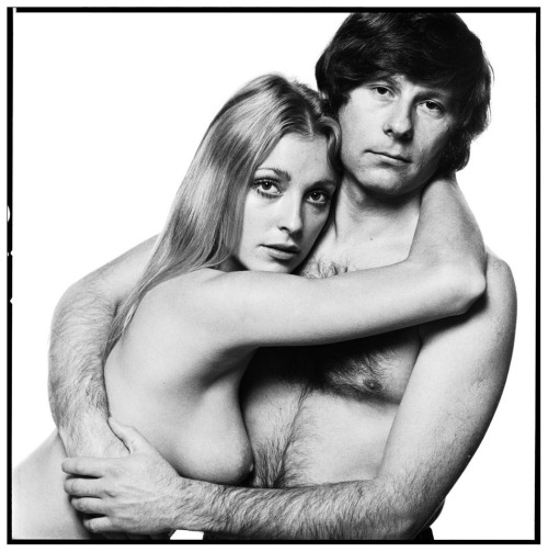 Sharon Tate & Roman Polanski (1969) by David Bailey [[MORE]]