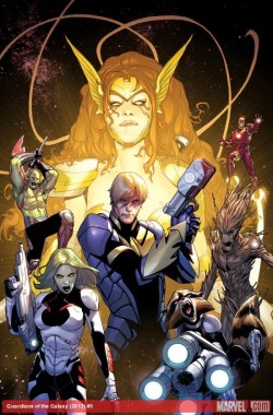Marvel Reveals Guardians of the Galaxy #5 Angela Cover, Anticipates Sales Boost Marvel is counting on at least one additional person buying a copy of Guardians of the Galaxy #5. Read More