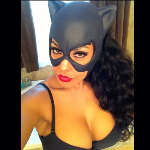 ninamercedez:  Here is a sneek peek of me as #Catwoman for Comic-Con by @Reevzfx ReevzFX.com  OMG.