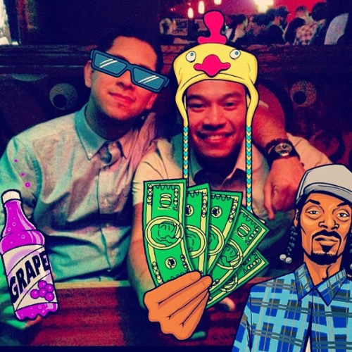 Snoop, Danny, and I just #turnt aayeeeeeee #dtf #florentines #snoopdogg #snooplion #snoopify