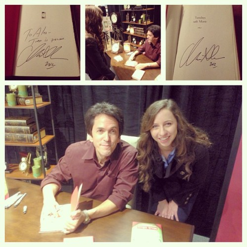 On top of the world. #mitchalbom #favoriteauthor #timeisprecious