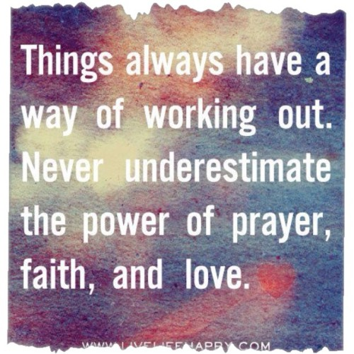tammyblackwelder:  #prayer #faith #love