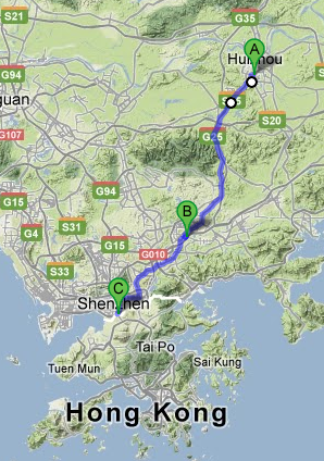 DAY 39 // We are in Huizhou. 86km from Hong Kong's border! We should reach it on Monday. Then M2B will have to pass through the customs… to be continued…