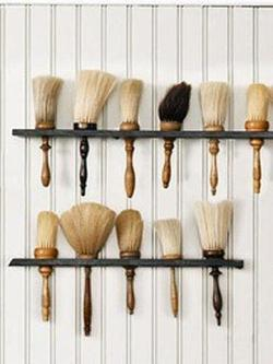 pallmallbarbers:  Barber brushes