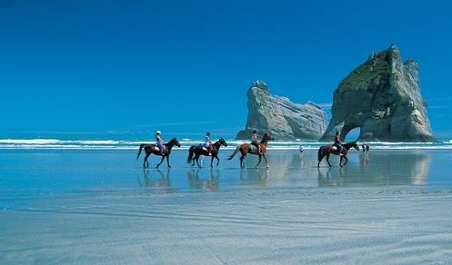 Golden Bay in New Zealand on Flickr.