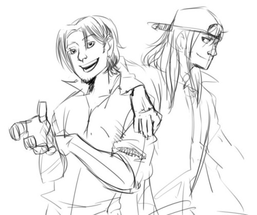 jiucunmu:  eddie/jaime another OTP