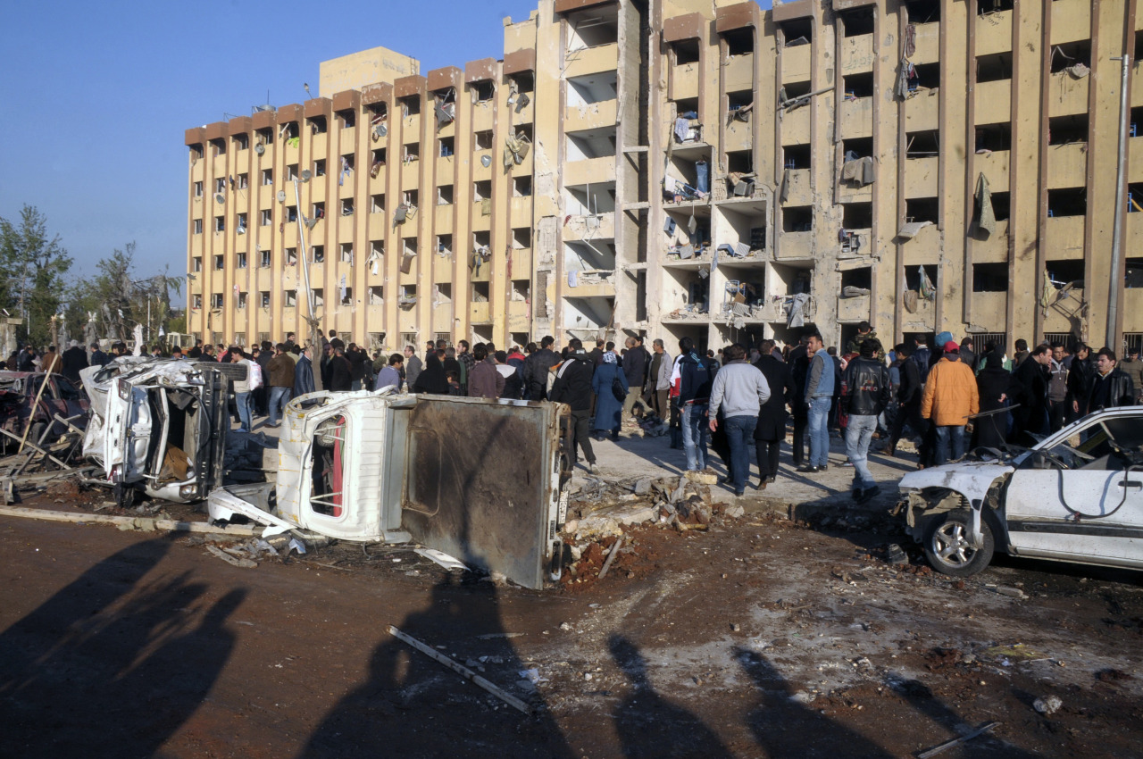 "Two explosions tore through one of Syria's biggest universities on the first day of student exams on Tuesday, killing at least 52 people and wounding dozens, a monitoring group said. Bloodshed has disrupted civilian life across Syria since a violent government crackdown in early 2011 on peaceful demonstrations for democratic reform turned the unrest into an armed insurgency bent on overthrowing President Bashar al-Assad. More than 50 countries asked the United Nations Security Council on Tuesday to refer the crisis to the International Criminal Court, which prosecutes people for genocide and war crimes. But Russia - Assad's long-standing ally and arms supplier - blocked the initiative, calling it ""ill-timed and counterproductive. READ ON: Explosions kill 52 at Syrian university as exams begin"