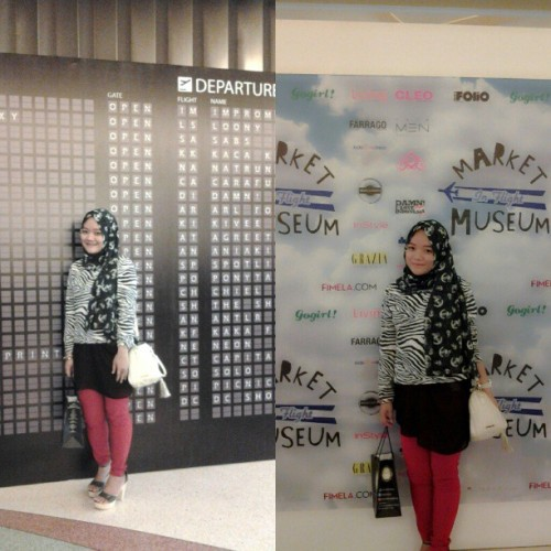 #marketmuseum #hijab #animalprint #sailorita #anchor #ilovehijab #photooftheday  (at Market & Museum)