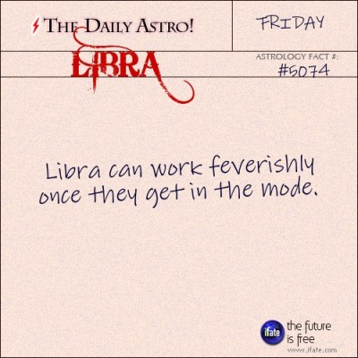 Libra 5074: Visit The Daily Astro for more Libra facts.and get a free online I Ching reading here