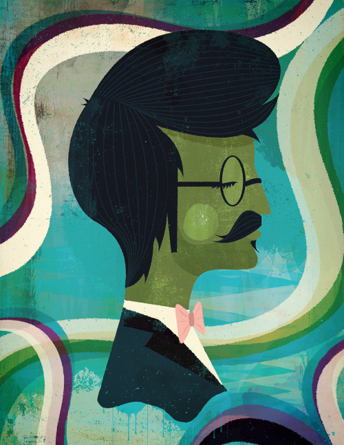 illustratedgents:  Andrew Bannecker