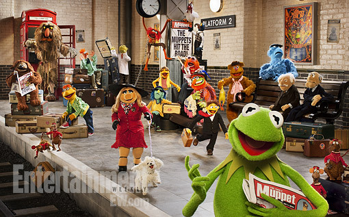 entertainmentweekly:  We've got a first look at The Muppets…Again! (which is the actual title of next year's sequel to The Muppets). Oh, and an interview with Kermit. Yaaaay!