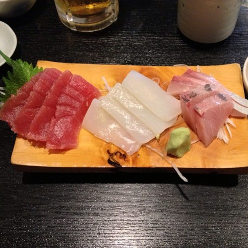 #sashimi for lunch #kamakura #japan