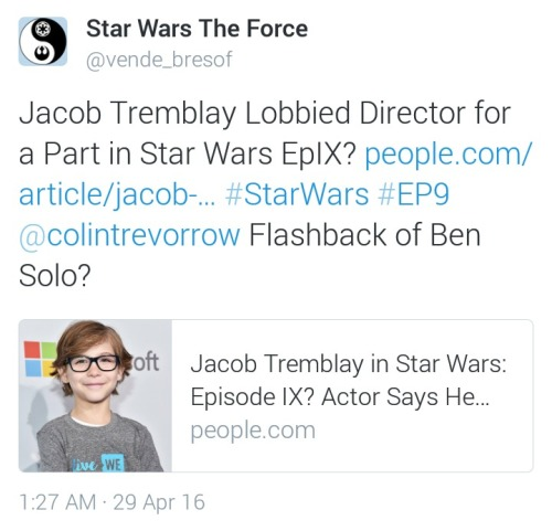 [ARCHIVE] SW Sequel Trilogy Spoilers/Rumors Tumblr_o6irk8LPOb1udfmjyo1_500
