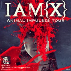 KILLER #IAMX SHOW last night!!! #greattimes w #greatfriends #lovedit #art #music #liveshow #fuckyeah #passion #fondatheatre #dedication #epic #realshow #greatmusic #dj #rock #electro #inpired