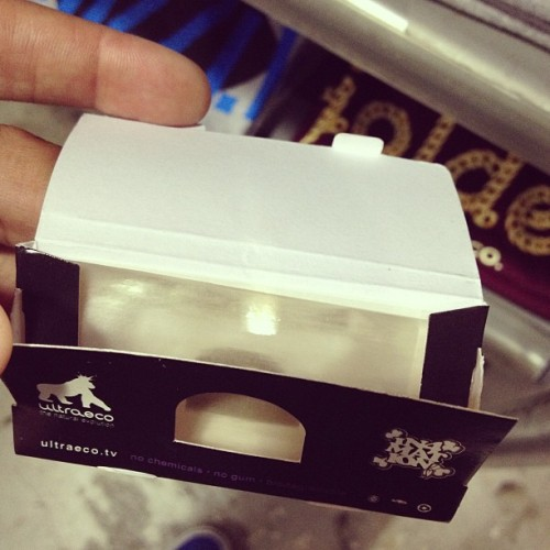 Just got hooked up with clear rolling papers. Dope.  (at Advantis Ride)