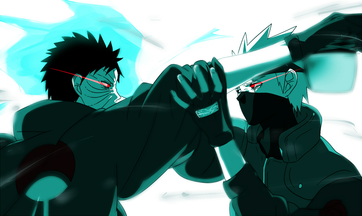 Hatake Kakashi vs Obito