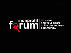 Nonprofit Forum Logo | Freelance (2012)