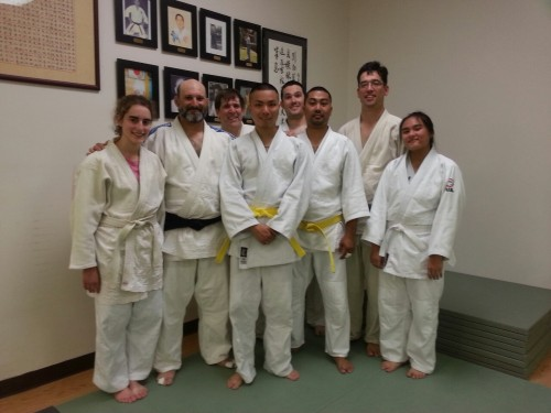 New yellow belts!