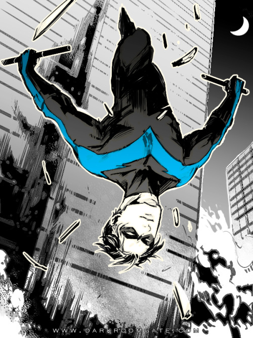 lunaexclamationpoint:  Nightwing by *Haining-art