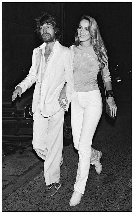 'mick jagger and jerry hall, paris, 1979'  by *bertrand rindoff petroff*